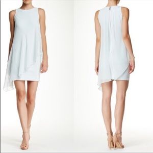 Ted Baker London Locie Asymmetrical Dress/Chiffon